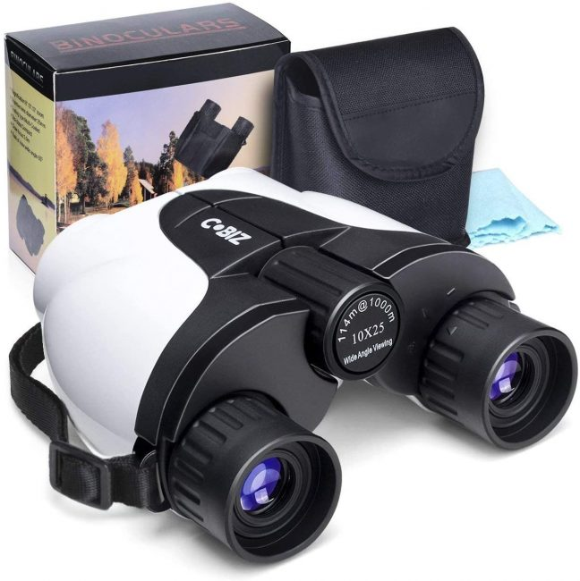 Binocular are great for kids.
