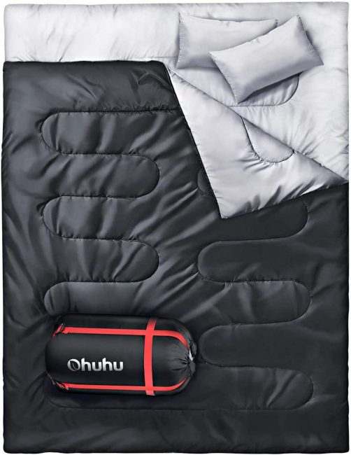Double Sleeping Bag - Camping Gifts for Couples