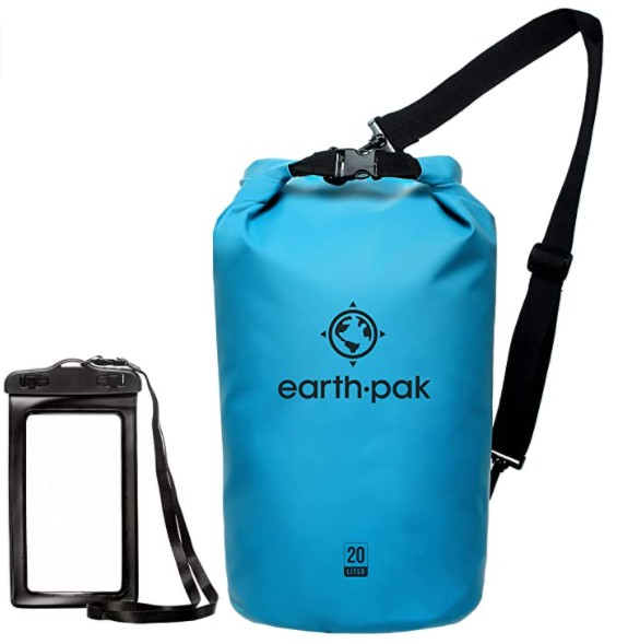 A dry bag is a great camping gift