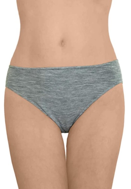 Ecoable Merino Brief Panties - Hiking underwear