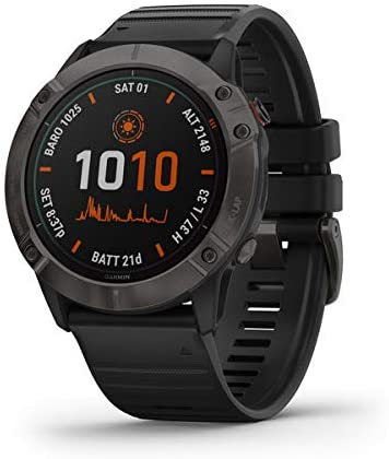 The Garmin is the perfect outdoor watch for the ultimate adventurer.
