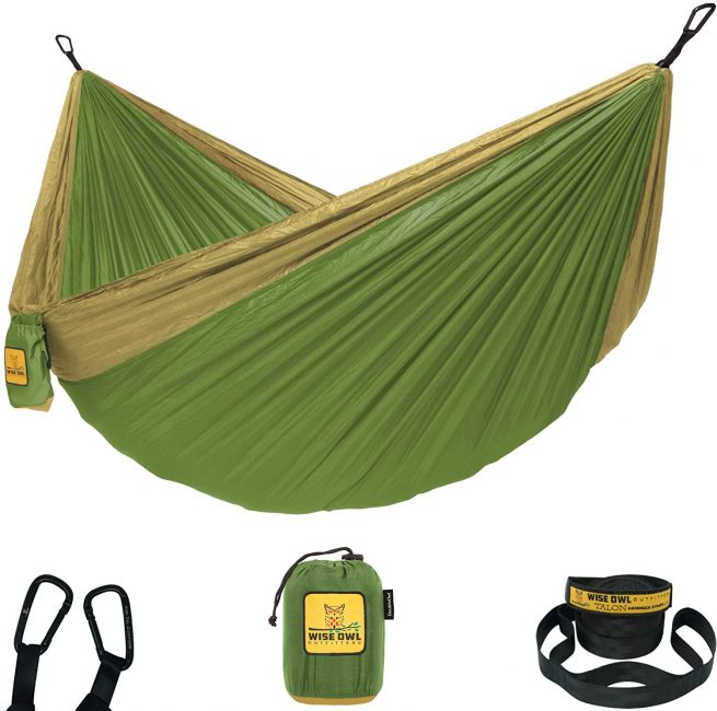 A hammock is great as a camping gift.