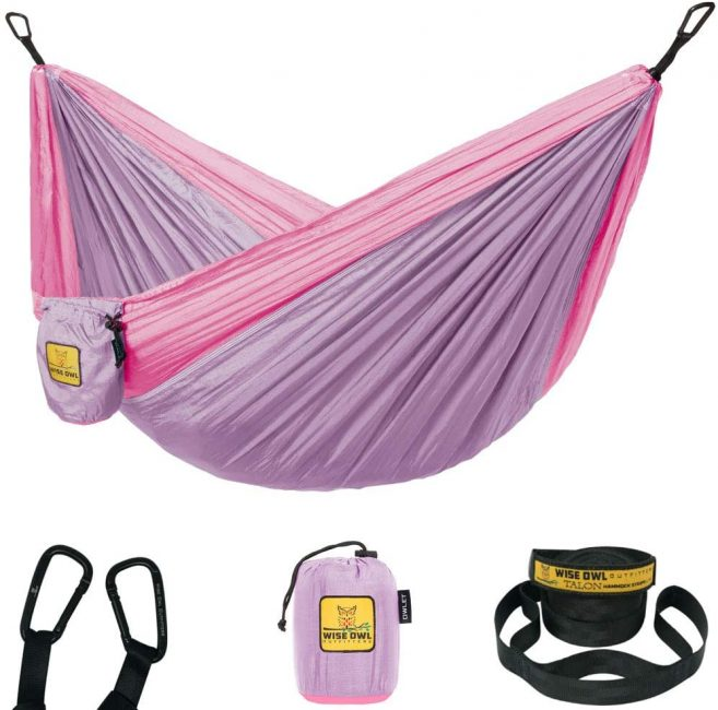 Hammocks are a great gift for the outdoorsy kid.