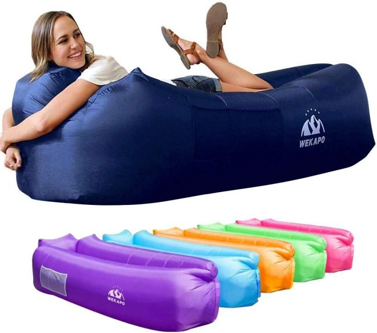 A inflatable is perfect for the outdoors