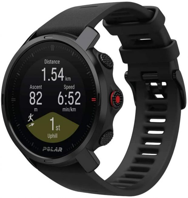 The Polar Grit X is great for all kinds of outdoor activities including hiking.