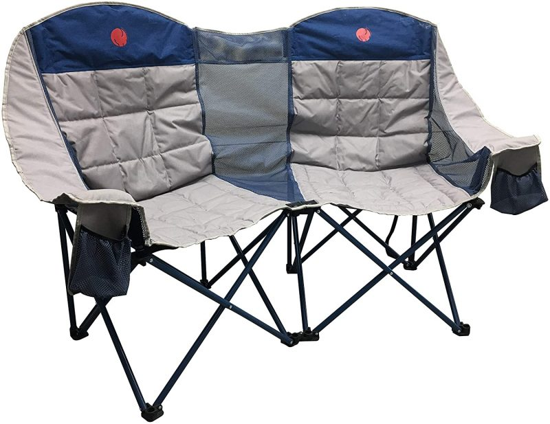 Portable loveseat - a great camping gift for couples