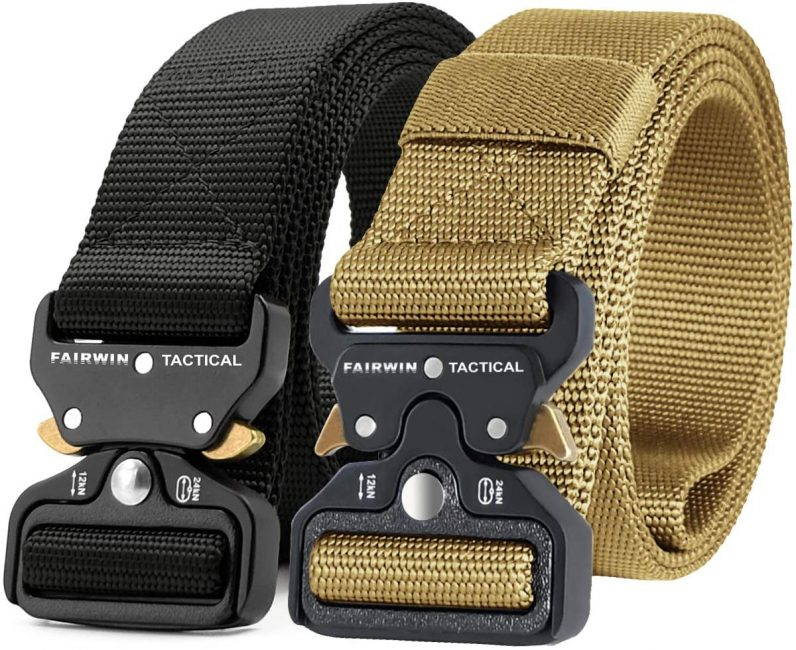 Tactical belts are great gifts for the outdoorsy
