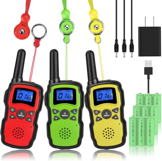 Walkie Talkies are a great gift for kids that love camping.