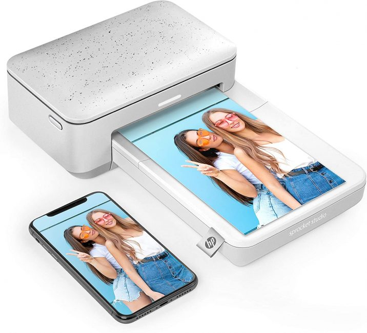 HP Sprocket Studio Instant Photo Printer