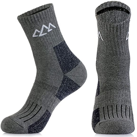 Wicking Cushion Therman Crew Socks