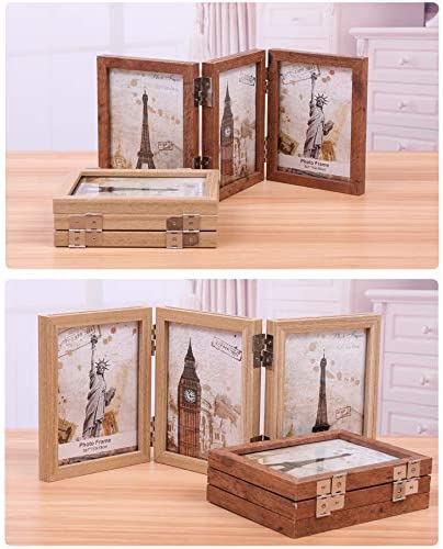 Wooden Folding Picture Frames