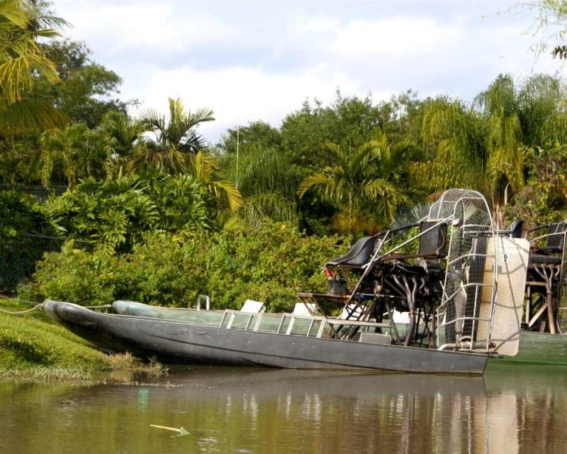 Take a tour on an Airboat
