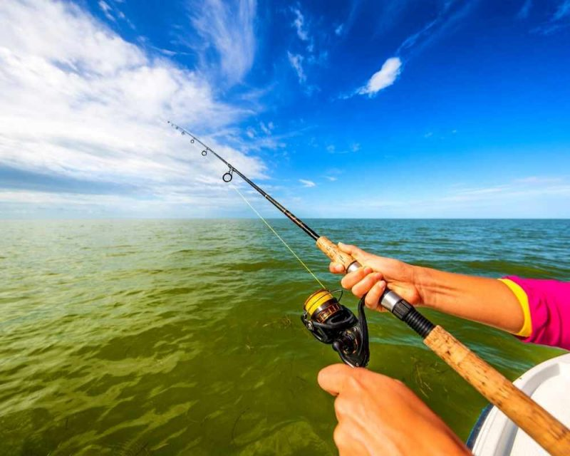 Fishing is a great thing to do when in the Everglades