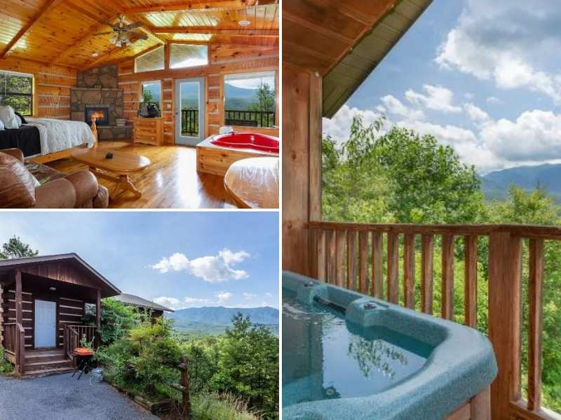 Mt. Leconte Views Cabin offers you a comfortable stay.