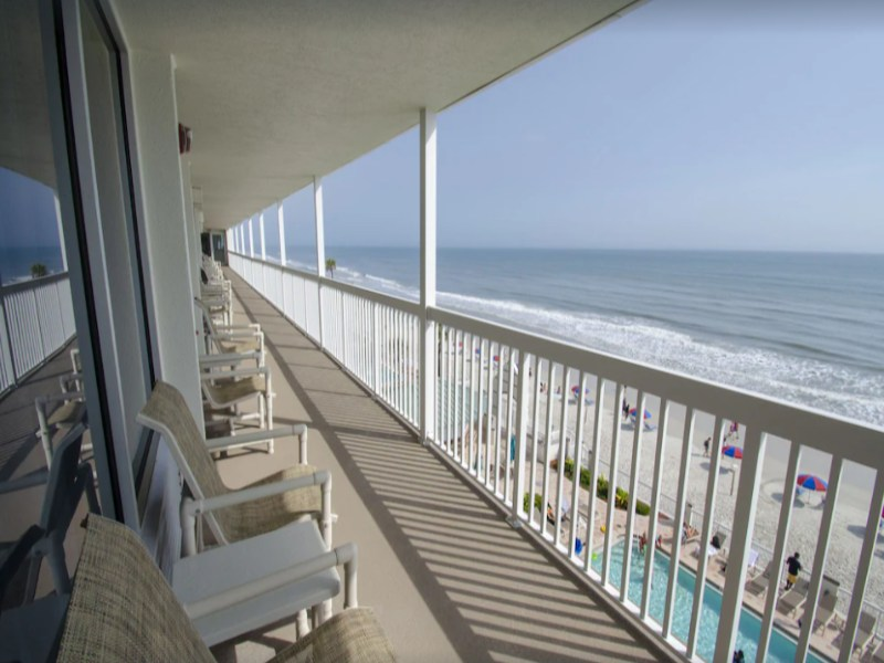 Check out this Oceanfront Studio in Daytona Beach