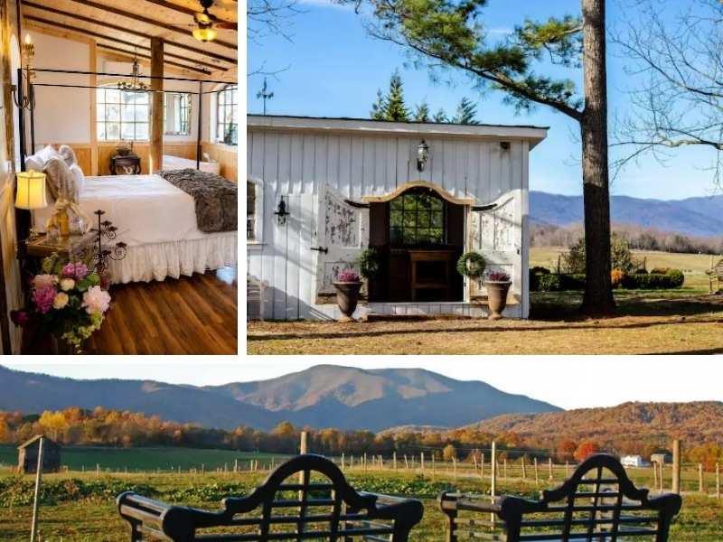 tiny romantic airbnb in Virgina