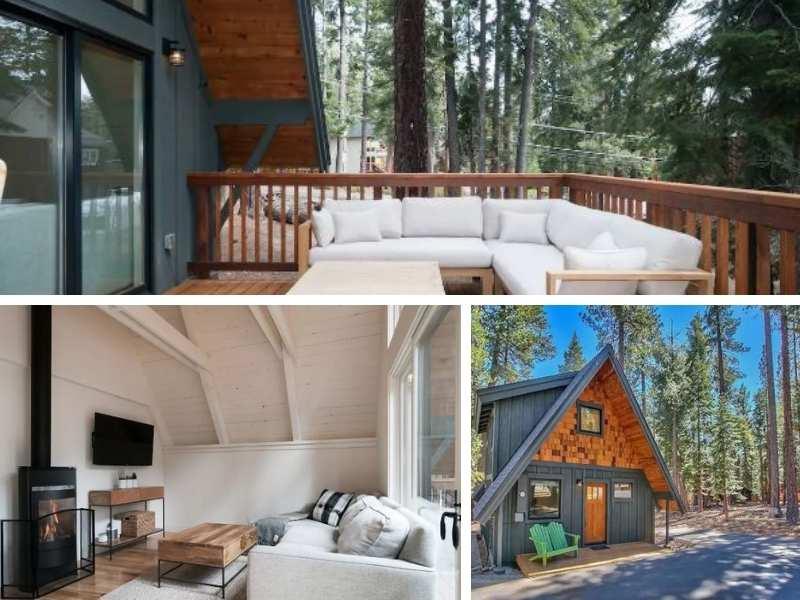 romantic airbnb near Lake Tahoe