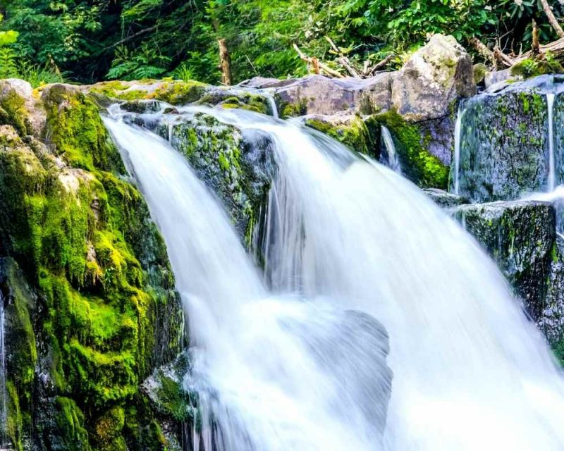 Abrams Falls - Hiking the Smoky Mountains.
