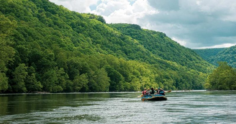 Try out whitewater rafting on your next RV Adventure.