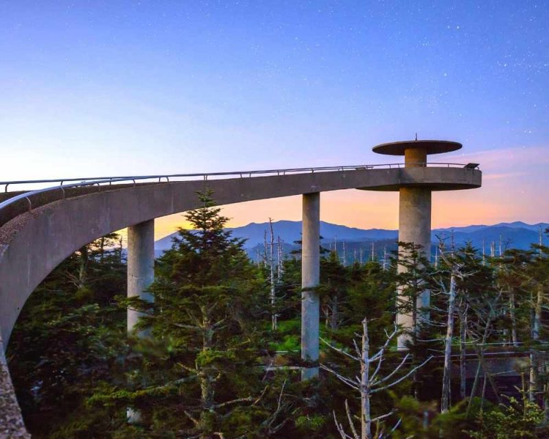 Clingmans Dome is a great place to enjoy epic views of the Smokies.