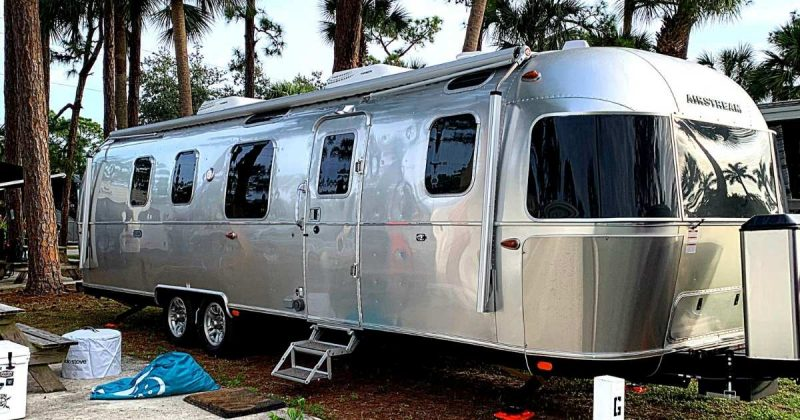 Living in an Airstream can be an interesting way to experience travel