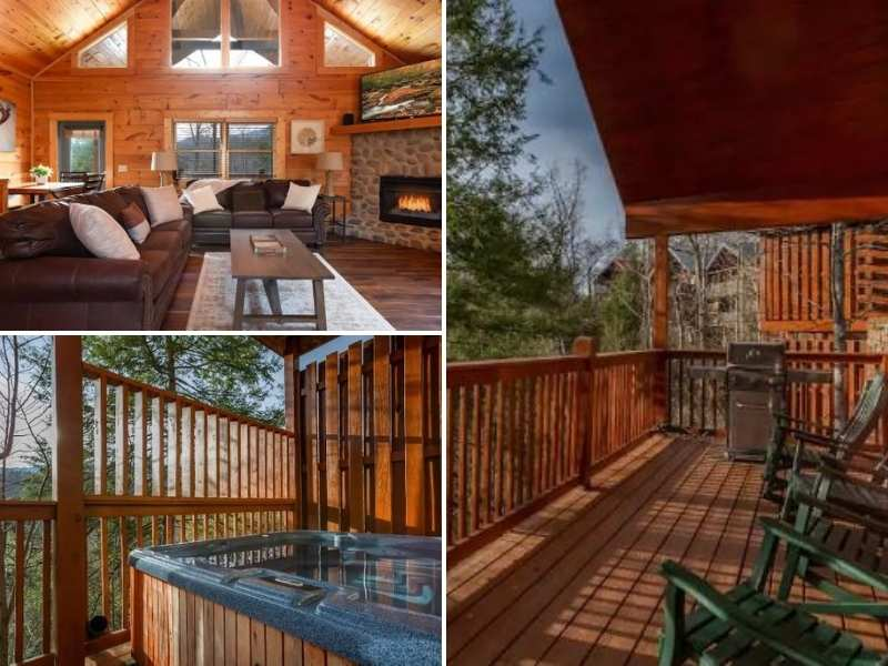 Stay at a great Airbnb in Gatlinburg Tennessee