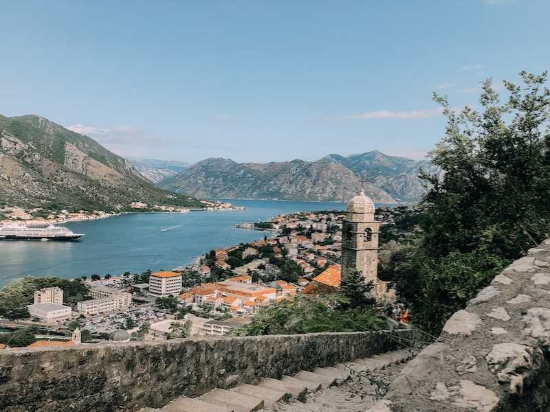 Kotor is the perfect base for hiking in Montenegro. It also has beautiful beaches.