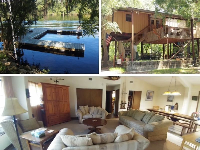 Suwannee Cypress Cabin - cabins in Florida to rent
