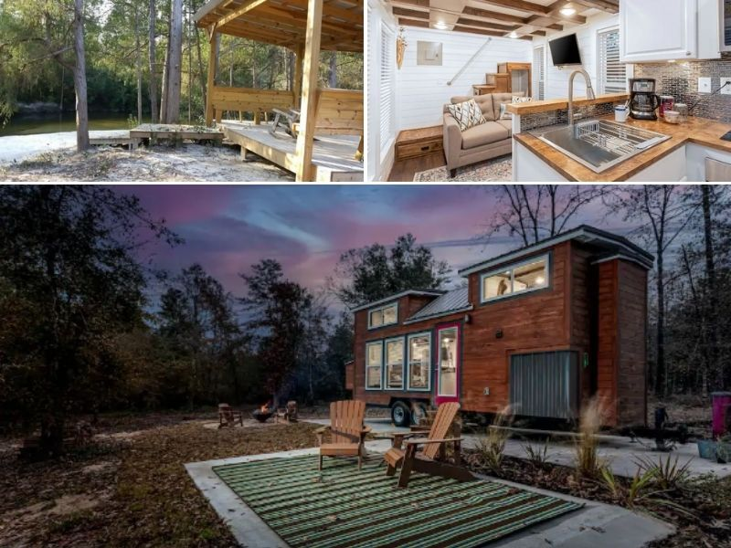 Tiny Cabin in the Woods - Cabins in Florida to rent