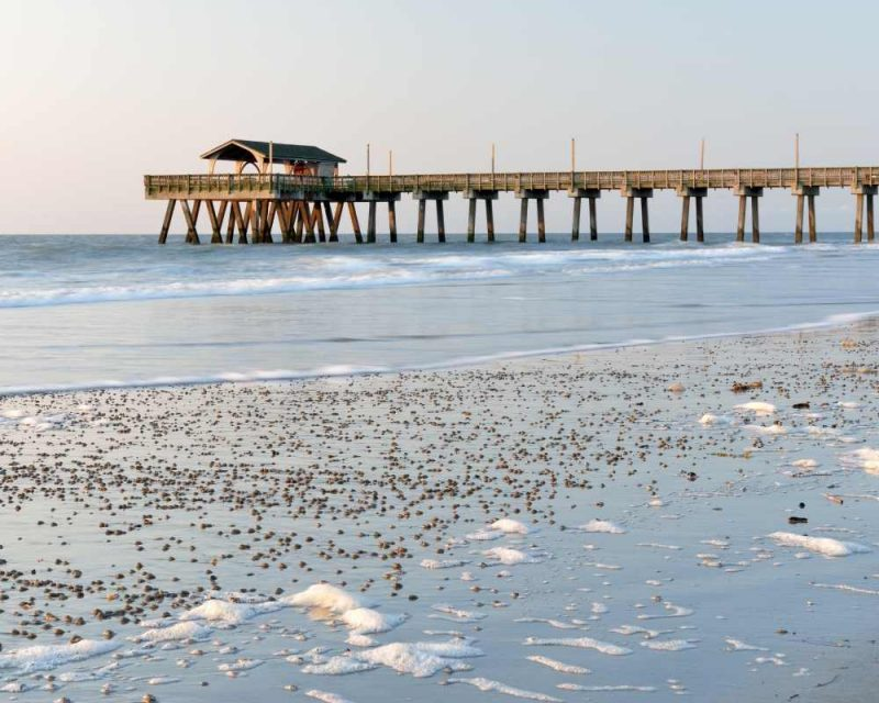Visit the Tybee Pier, one of the best attractions on the island.