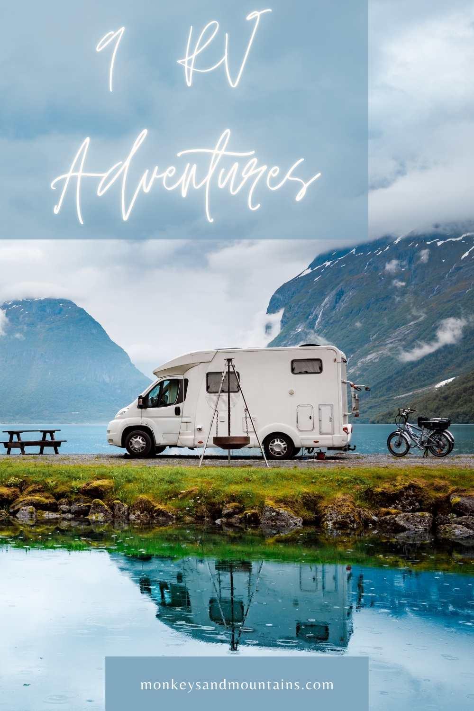 take an adventure in a RV