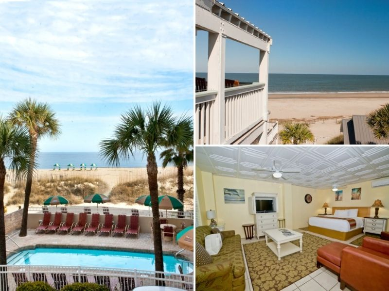 The Beach Terrace is a great Airbnb in Tybee Island