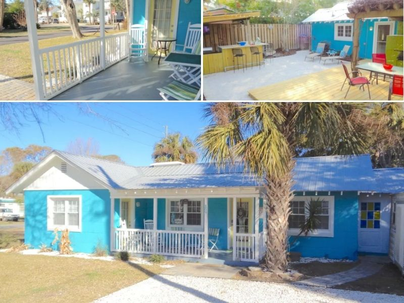 The Breezy Banana is a great property for small families and couples
