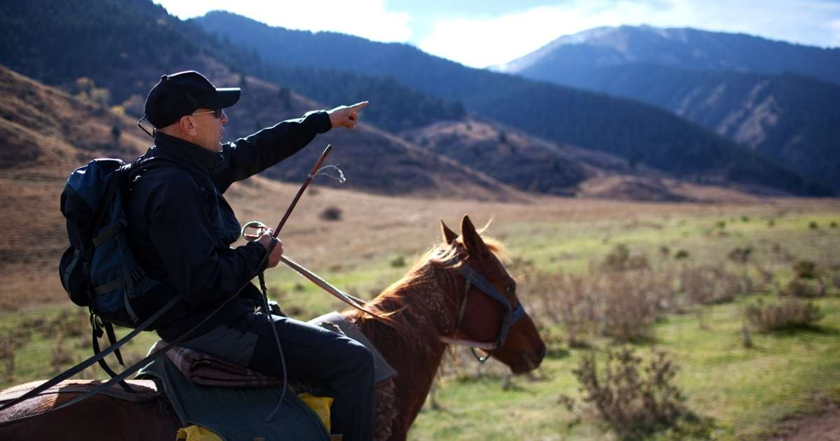 Horseback Riding Smoky Mountains