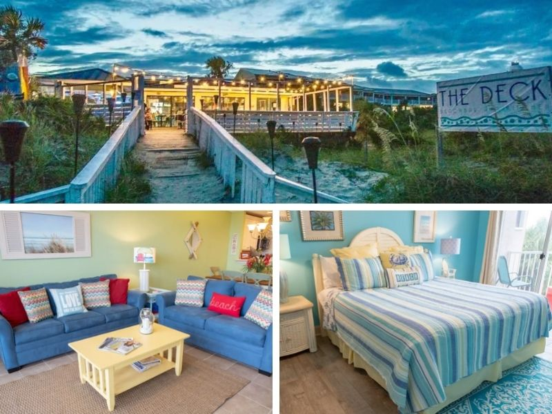 Luxurious Oceanfront Condo - a beautiful Tybee Island Airbnb