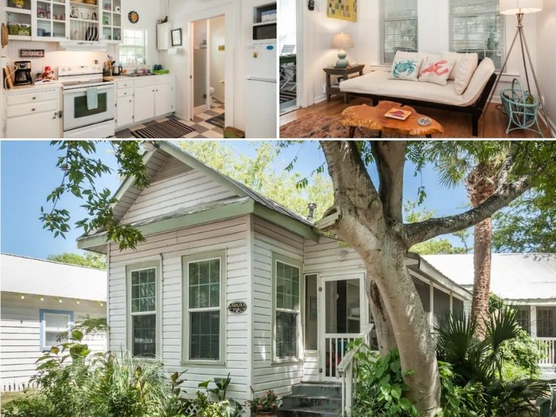 The Sandy Shoes Cottage is a great place to stay for couple.