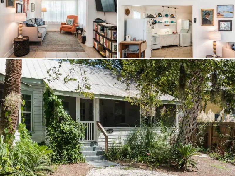 The Sea Cottage is a great Airbnb in Tybee Island