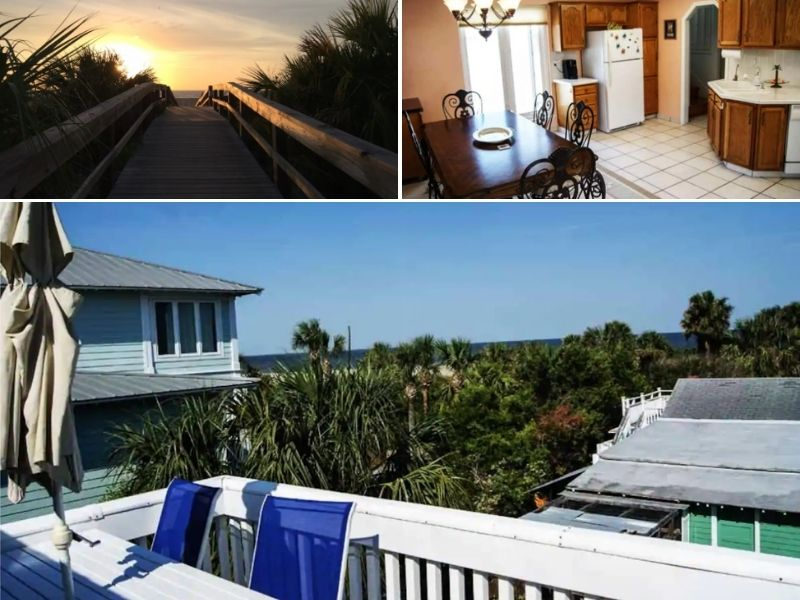 The Sea View Cottage - Tybee Island Airbnb