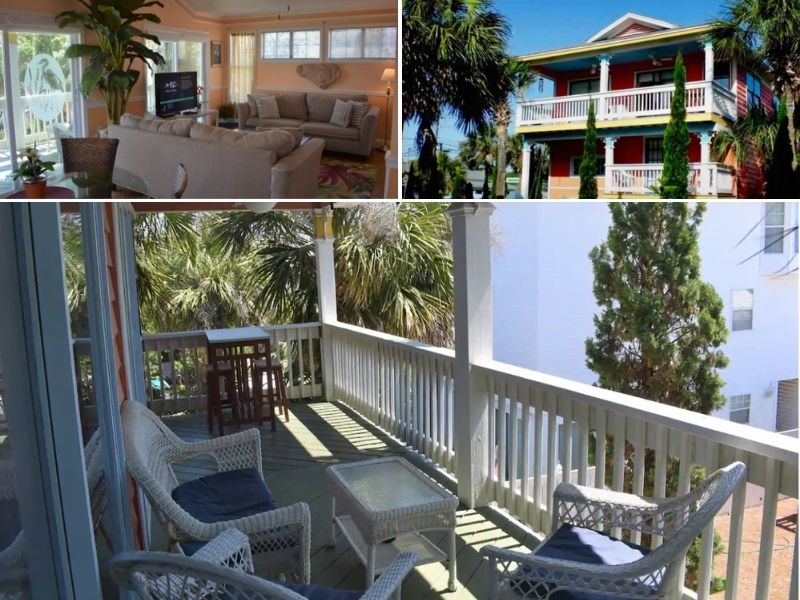 The Peach Penthouse is a great vacation rental on Tybee Island