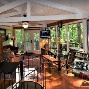 Enjoy great views of Lake Pettit from this property