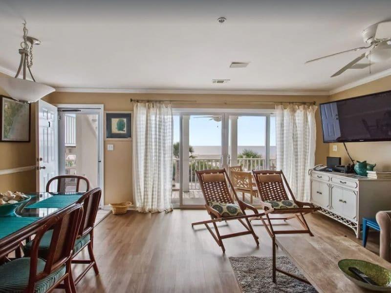 Beach Front Condo -  Tybee Island vacation rental