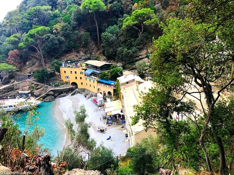 San Fruttuoso Abbey is only reachable by hiking or by boat