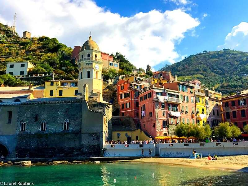 Vernazza is one of the Cinque Terre villages you'll hike to