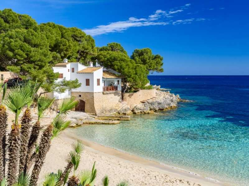 Mallorca is a beach lover's paradise with lots of hidden coves.