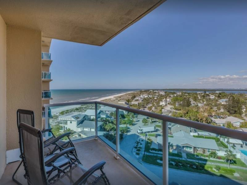 Enjoy fantastic views of the Beach from this stay on VRBO