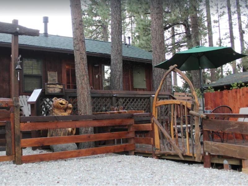 Enjoy this rustic cabin rental in Big Bear California