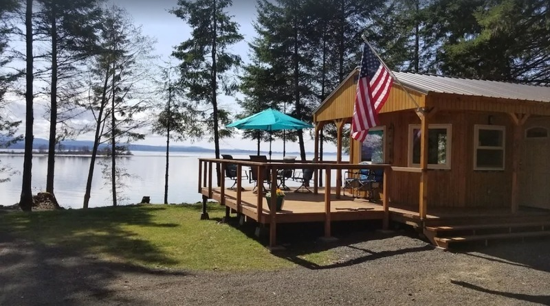 The Coho Cabin offers you a great stay