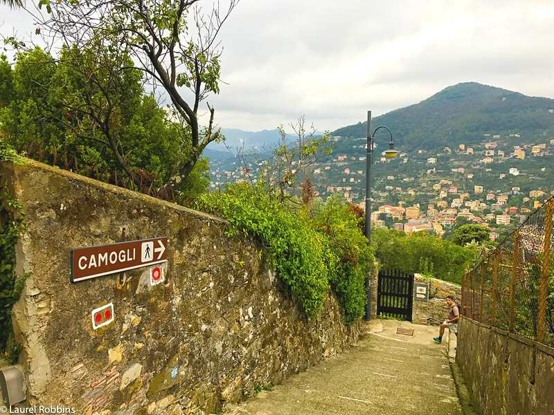 hike from the town of Camogli to San Fruttoso Abbey