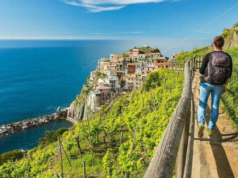 Cinque Terre is a great first multi-day hike that offers hikers a mix of activity and culture