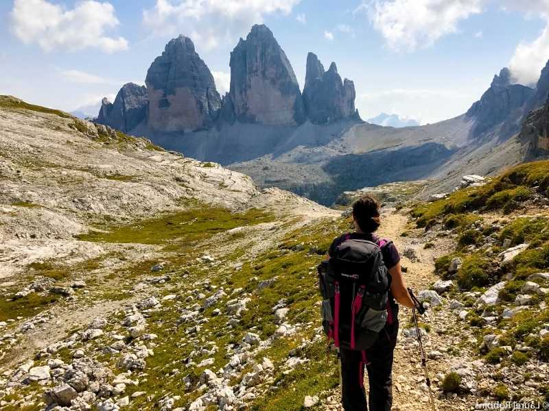 Dolomites is a great multi-day hike/trek in Italy